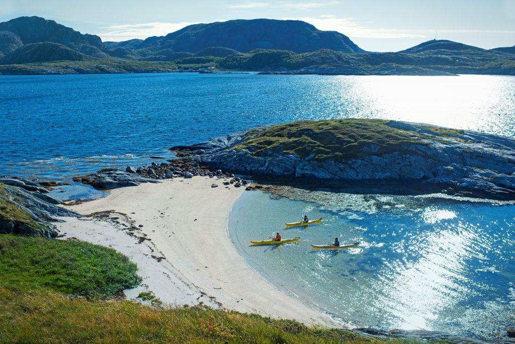 Die Küste Namdalen