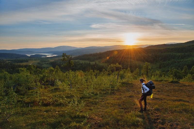 Wandern in Namdalen – markierte Wanderwege